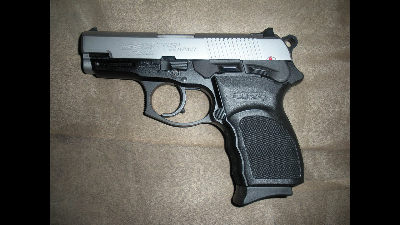 BERSA THUNDER 9 ULTRA COMPACT OVERVIEW AND FIELD STRIP - YouTube