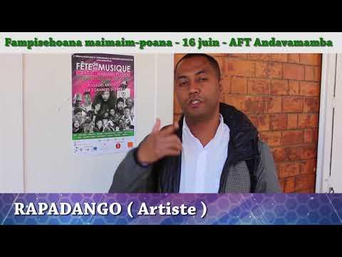 RAPADANGO - Fête de la Musique 2018 AFT