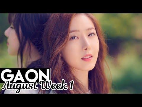 [TOP 100] Gaon Kpop Chart 2017 [Aug Week 1]