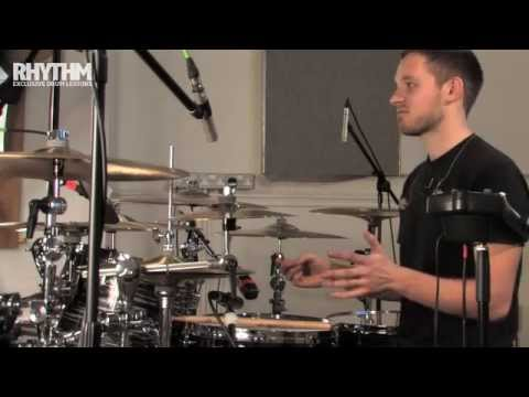 Architects drummer Dan Searle kit tour