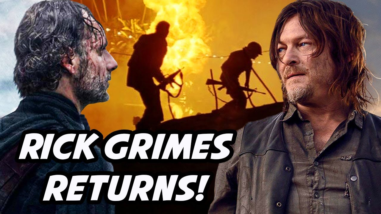 'Rick Grimes Returns & 2 Major Deaths in The Walking Dead Final Season' The Walking Dead Ending