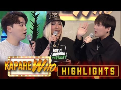 Vice Ganda tests Ryan and Jin Ho's hosting skills   It's Showtime KapareWho