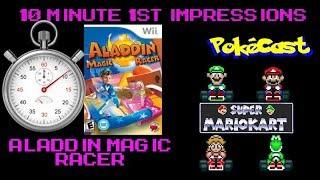 10 Minute 1st Impressions : Aladdin Magic Racer