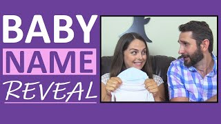 Baby Name Reveal | Nurse Sarah's Baby Boy Name Reveal