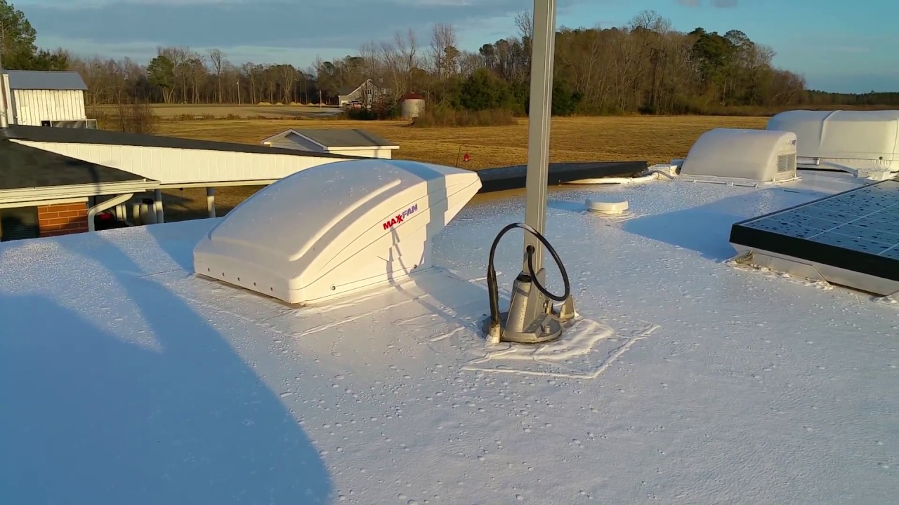 Solar Boondockers  Henryu0027s 887 Tropi-cool 100% silicone roof coating ( 4-Month review ) - YouTube & Solar Boondockers