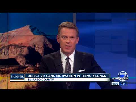 Detective: Gang feud motivated Colorado teenagers' killings