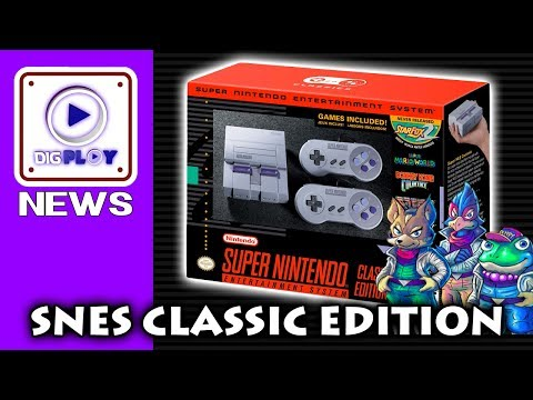SUPER NINTENDO CLASSIC EDITION é real e foi anunciado pela Nintendo!