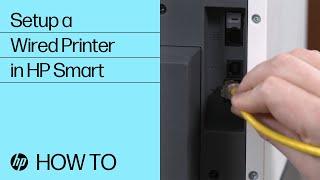 Impresoras Hp Configuración De La Impresora De Red Windows Con Cable Soporte Al Cliente De Hp