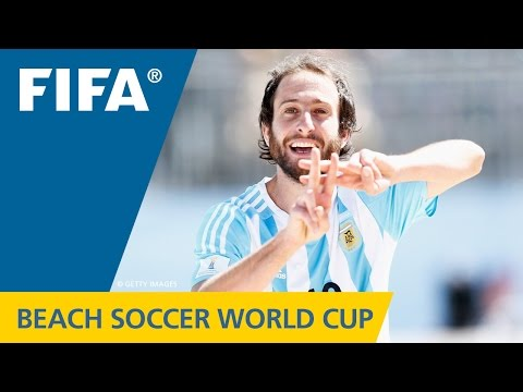 HIGHLIGHTS: Japan v. Argentina - FIFA Beach Soccer World Cup 2015