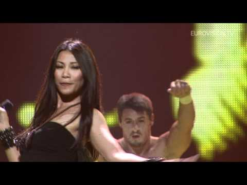 Anggun - Echo (You And I) France 2nd rehearsal and backstage