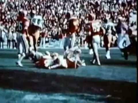 Tom Hicks Illinois highlights, 1973 West Virginia @ Illinois