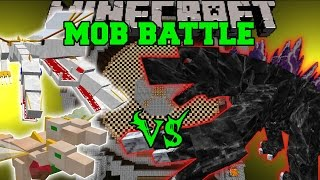 YOUNG ADULT PRINCE & PRINCESS VS MOBZILLA - Minecraft Mob Battles - Mods