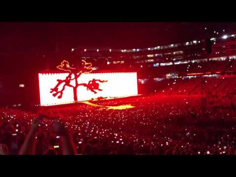 U2 GILLETTE STADIUM ,JOSHUA TREE TOUR 2017 .FOXBORO  MA