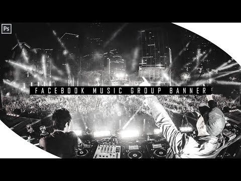 How to make a music group banner in Photoshop