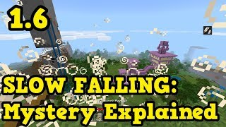 Minecraft 1.6 NEW POTION - Slow Falling Mystery Explained