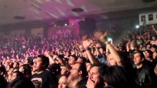 Hammerfall - Let The Hammer Fall, Mexico City, Circo Volador, Diciembre 2014