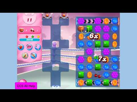 Candy Crush Saga Level 3158 NO BOOSTERS Cookie