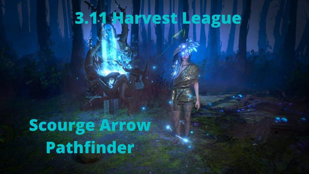 Poe 3.11 Harvest - Scourge Arrow Pathfinder