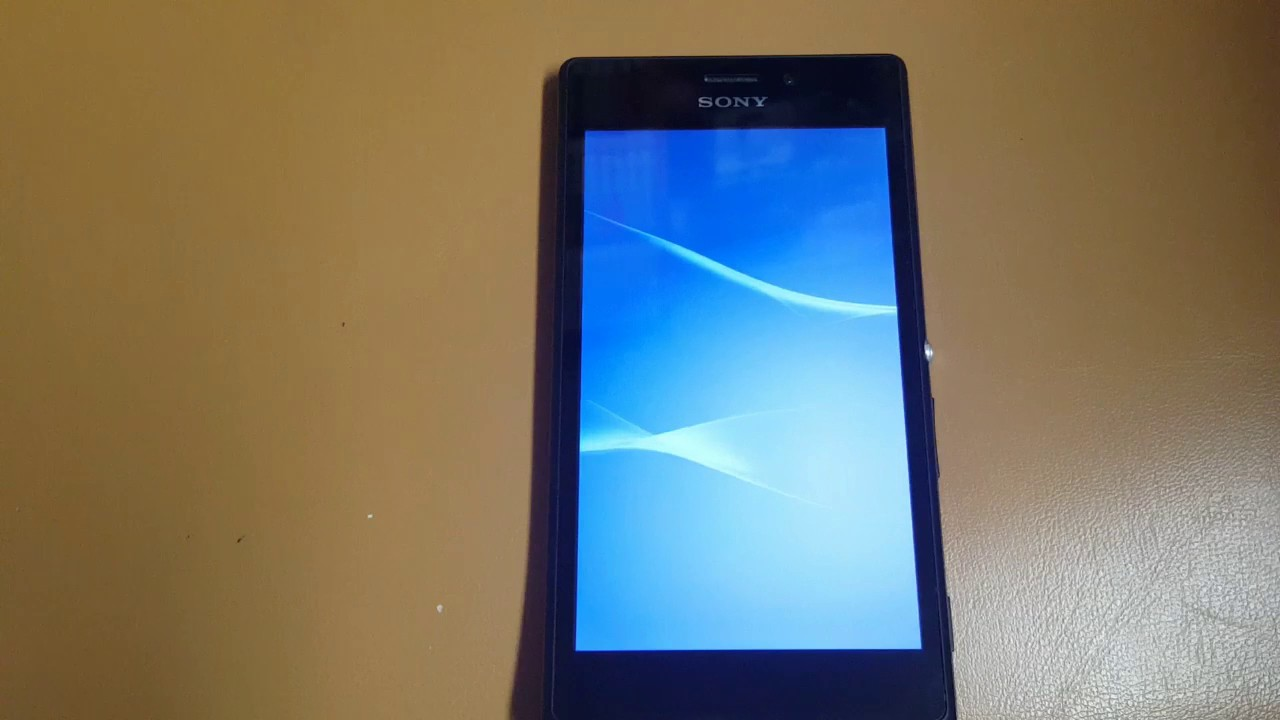 How to Hard Reset Sony Xperia M2 D2303 - YouTube