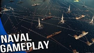 Wargame Red Dragon - Naval Combat Gameplay