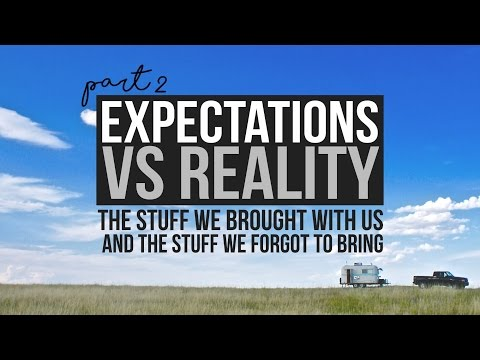 Part 2 - Expectations Vs. Reality of RV Life - Fulltime Traveling - a Drivin' & Vibin' Travel Vlog