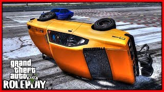 GTA 5 Roleplay - Flipped my Car Drag Racing | RedlineRP #752