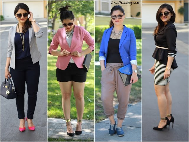 9e76dbbc769 4 fun ways to style blazers – Try on and review of FashionMia.com – Chic  Pudding