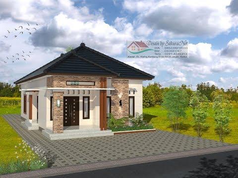 Modern House 7 5x14 3 K Tidur Desain Rumah Minimalis Lantai 1