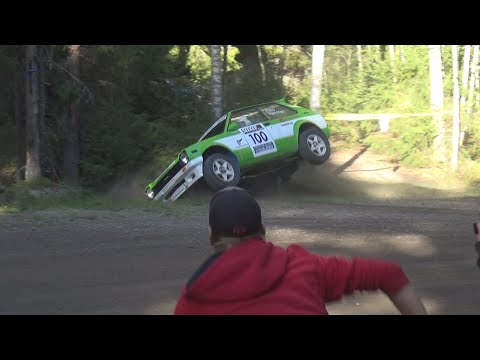 Turku SM Ralli 2016 (crash & Action)
