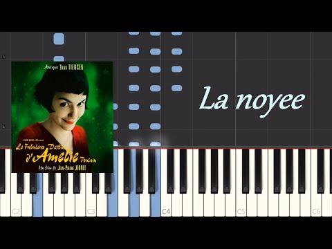 La Noyee - Yann Tiersen Piano Tutorial (Synthesia) 100 %