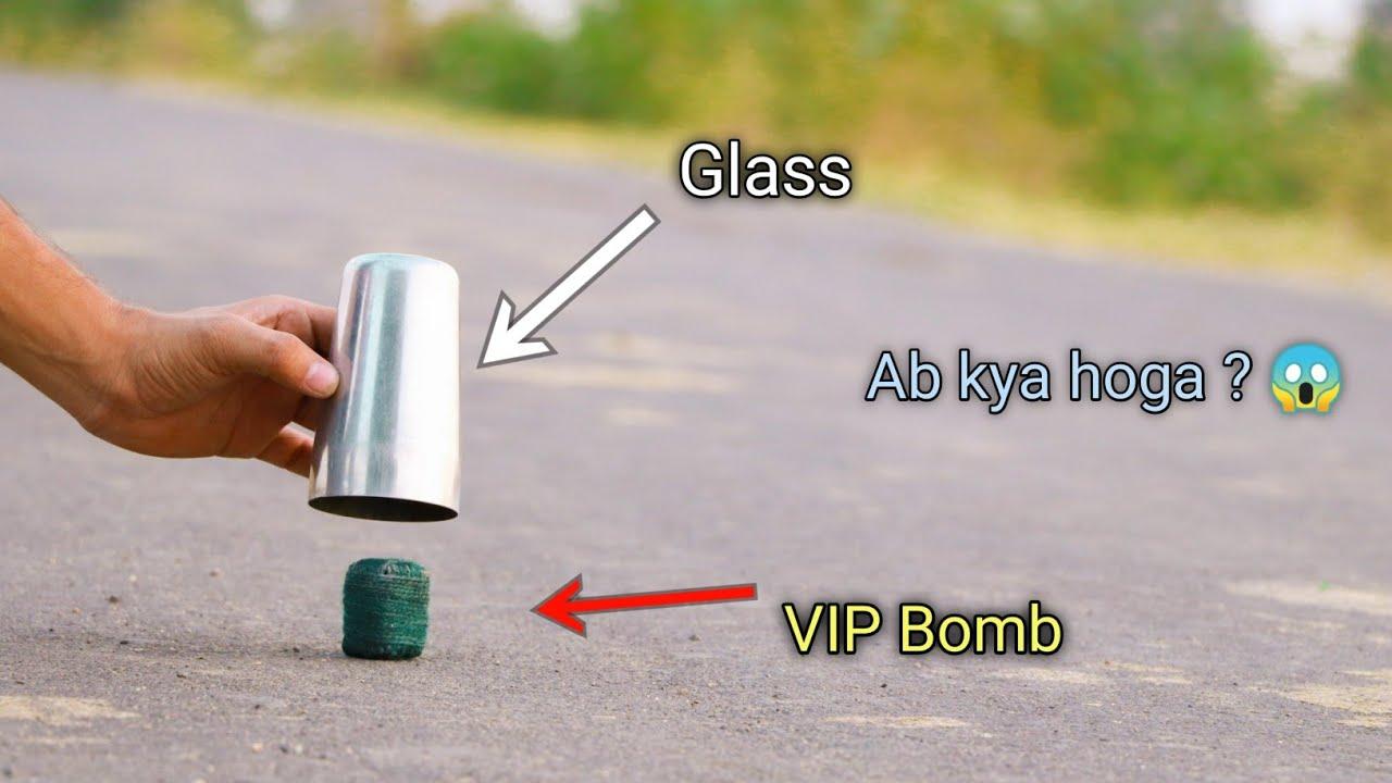Download what happen when we put glass on sutli bomb 😱