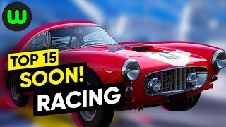 Top 15 Upcoming Racing Games For 2020, 2021, & Beyond | Whatoplay