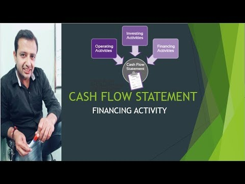 CASH FLOW STATEMENT-PART-4-FINANCING ACTIVITY