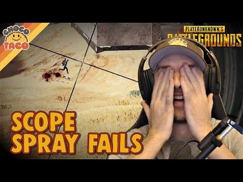 M4 Scope Spraying Fails ft. TGLTN - chocoTaco PUBG Duos Gameplay