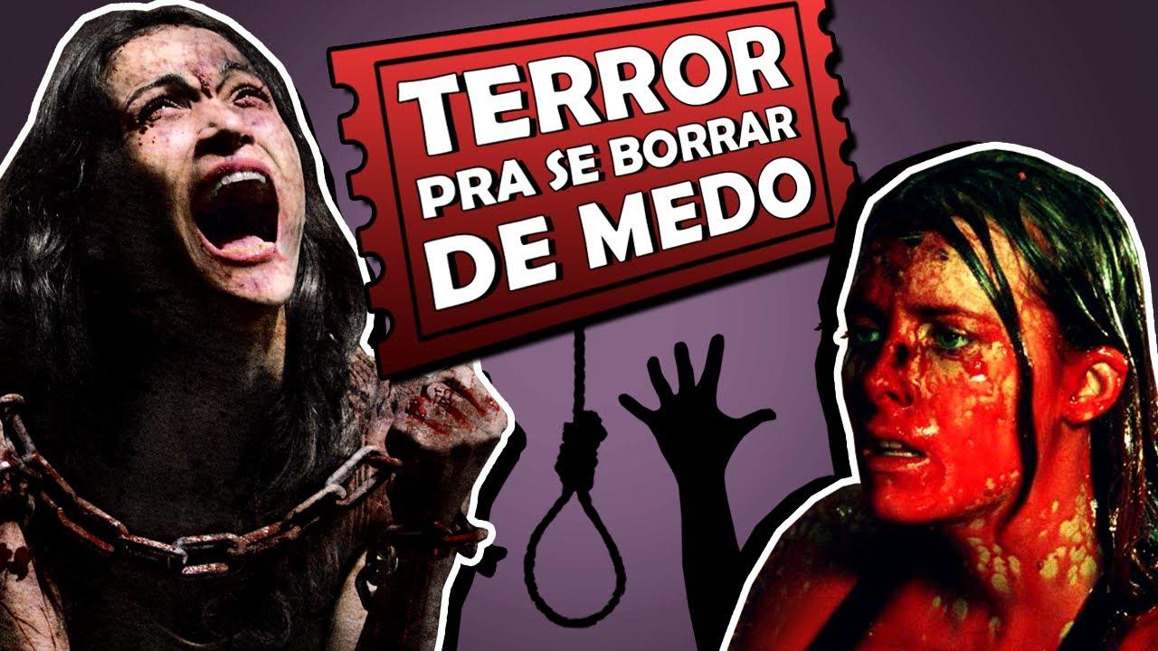 8 filmes de terror pra você se cagar de medo