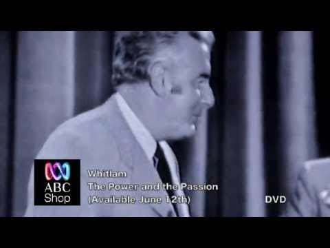 Whitlam  The Power and The Passion  DVD P