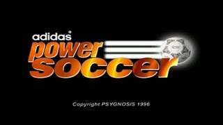 Adidas Power Soccer PS1 Playthrough - How Much Did Adidas Pay For This