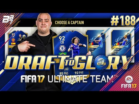 DRAFT TO GLORY! FINAL TOTS PUSH! #188 | FIFA 17 ULTIMATE TEAM