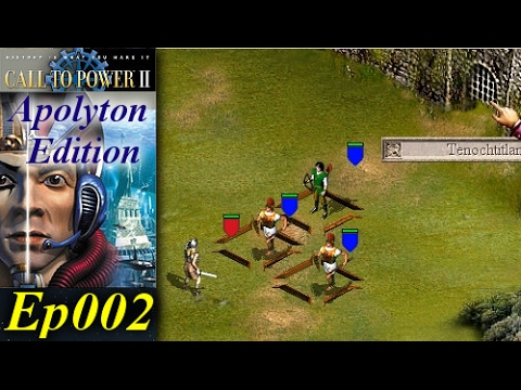 Call To Power II - Apolyton Edition [2/3] Ep002 - The 4th Great Aztec Empire!