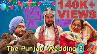 Punjabi Wedding 2 || Langda Aam Productions || FUNNY VIDEO