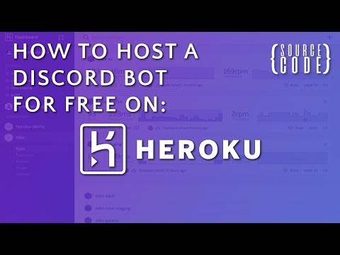 HOW TO HOST YOUR DISCORD BOT FOR FREE! (Heroku)