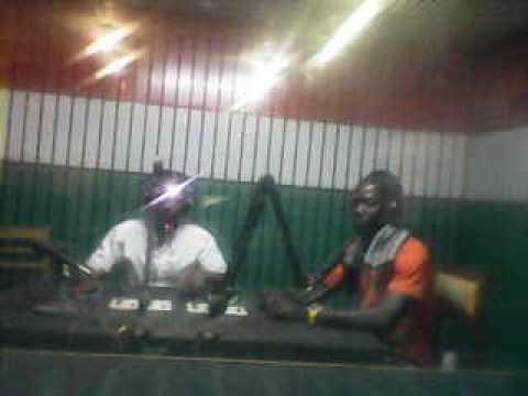 Emission Radio { Benin} parakou Avec l'artiste Rappeur MANAWE