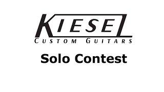 Kiesel Guitars solo contest - razor716 #kieselsolocontest