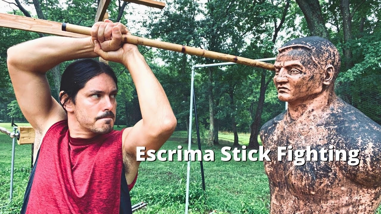 4 POWERFUL ESCRIMA STICK FIGHTING Moves for the WIN