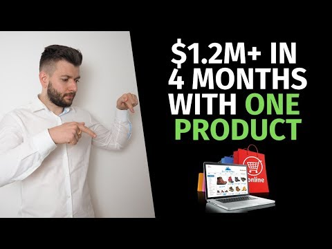 [Free Course] $1,239,812.99 in 4 Months With ONE Product   Scaling Dropshipping Store in 2019