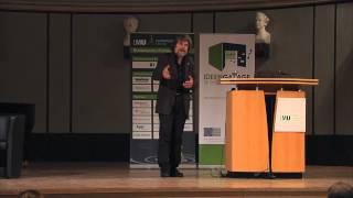"""Reinhold Messner bei """"Weltklasse Unternehmertum"""" an der LMU München"""