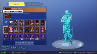 Fortnite account to exchange/sell (550€ value)