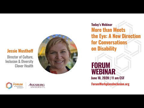 More than Meets the Eye: A New Direction for Conversations on Disability
