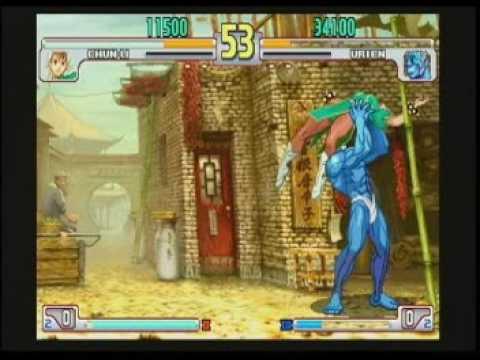 3S (09) - Izumi (Chun-Li) vs. Abe (Urien)
