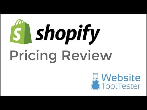 Shopify Pricing - Comparing the different plans